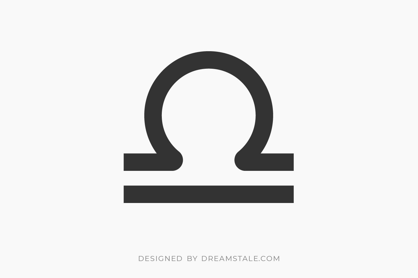 Libra Zodiac Sign Clipart Free SVG